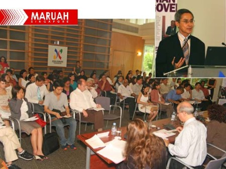 Public lecture by Prof Viti Muntarbhorn organised by MARUAH Singapore and the Asia-Europe Foundation