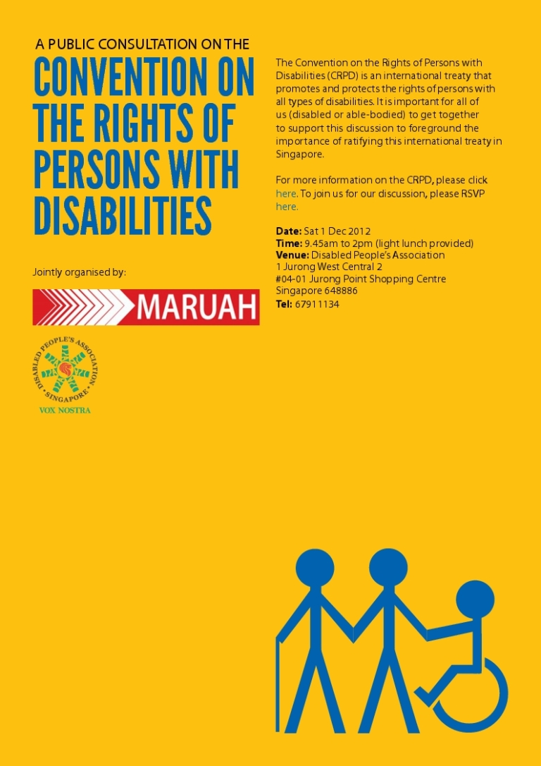 combating discrimination against persons with disabilities 10102018 combating discrimination against persons with disabilities over 650 million people around the world live with disabilities in every region of the world.